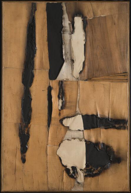 Alberto Burri, 'Combustione legno (Wood Combustion)', 1957