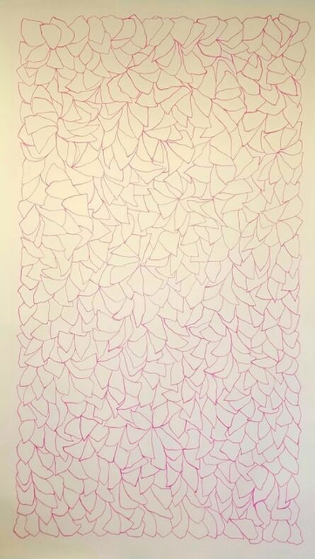 Catherine Owens, 'Line Drawing 5 (Pink)', 2018