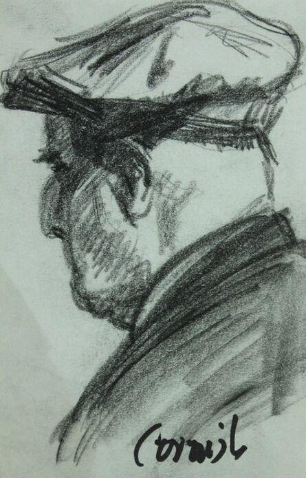 Norman Cornish, 'Man with cap'