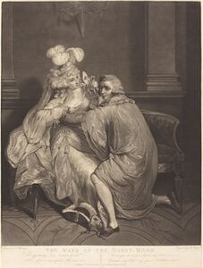 Robert Laurie after Francis Wheatley, 'The Wane of the Honeymoon', 1789