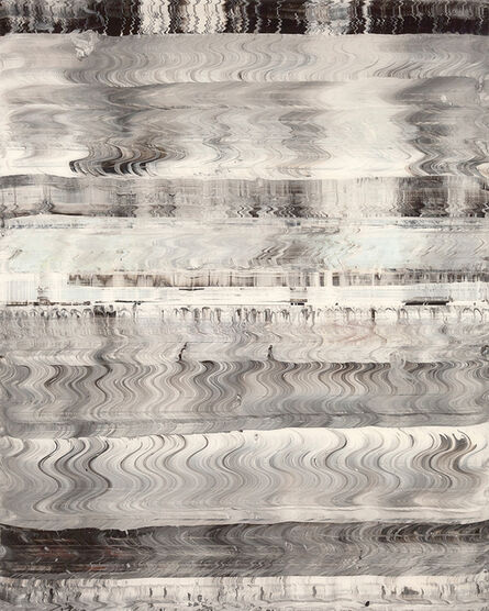 Michael Burges, 'Reverse Glass Painting No. 12 2020', 2020