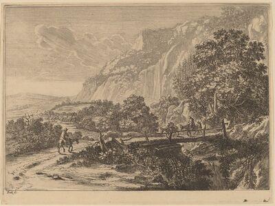 Jan Both, 'The Wooden Bridge at Sulmona near Tivoli'