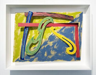 Frank Stella, 'Green Solitaire', 1977