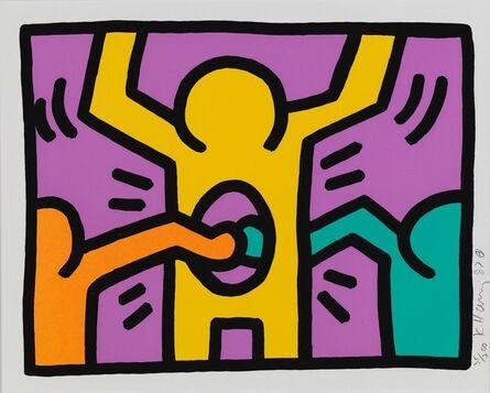 Keith Haring, 'Pop Shop I (C)', 1987
