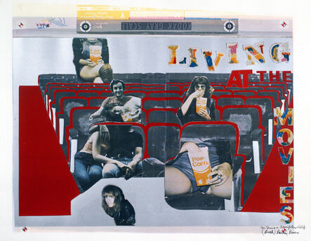 Larry Rivers, 'Living at the Movies', 1974