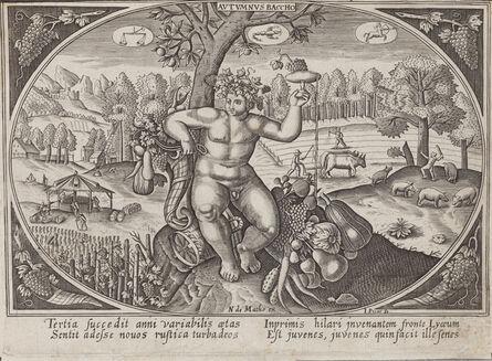 Continental School, '[Autumnus Baccho] (possibly from Johann Wilhelm Stucki's Antiquatatum convivialium libri)', Late 16th or Early 17th Century