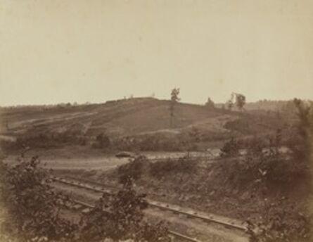 George N. Barnard, 'Battlefield in Atlanta', 1864