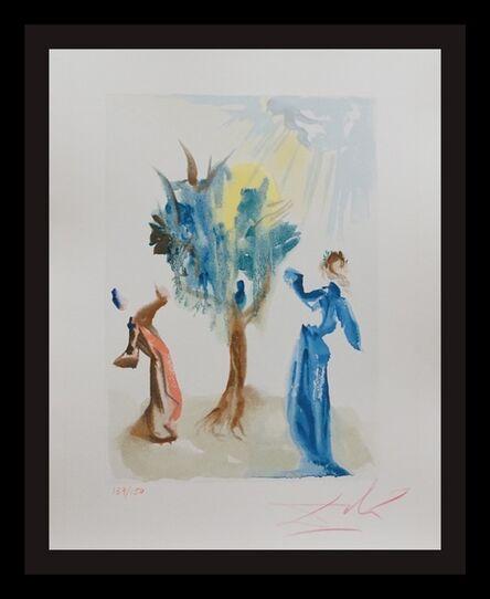 Salvador Dalí, 'Divine Comedy Purgatory Canto 24', 1960