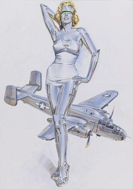 Hajime Sorayama, 'Sexy Robot Marilyn', 2019