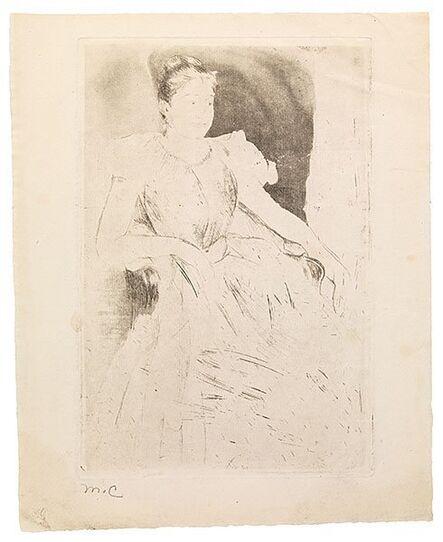 Mary Cassatt, 'Katharine Kelso Cassatt', ca. 1889