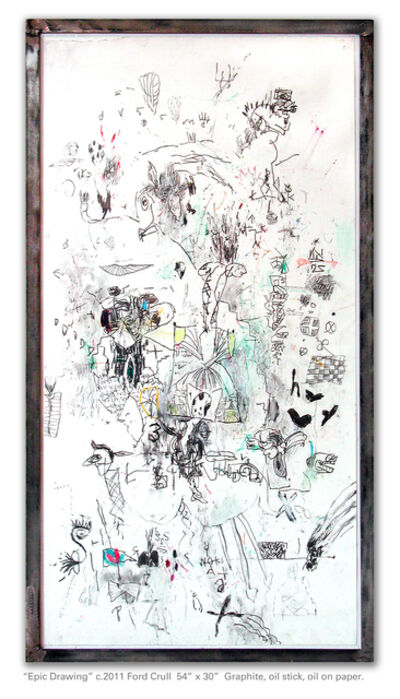 Ford Crull, 'Epic Drawing', 2011