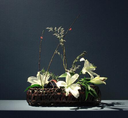 Maeda Chikubōsai II, 'Jakago (Gabion-style Flower Basket)', Showa Period
