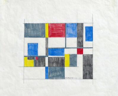 Burton Wasserman, 'Untitled Mid Century Modern Geometric Abstraction', ca. 1960