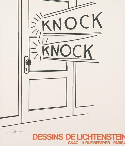 Roy Lichtenstein, 'Knock Knock', 1975