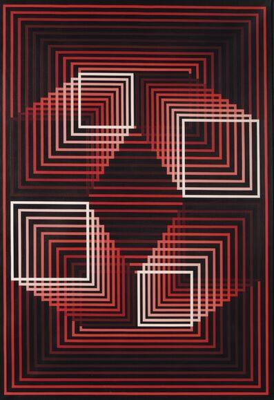 Yvaral, 'Quadrature camin', 1972