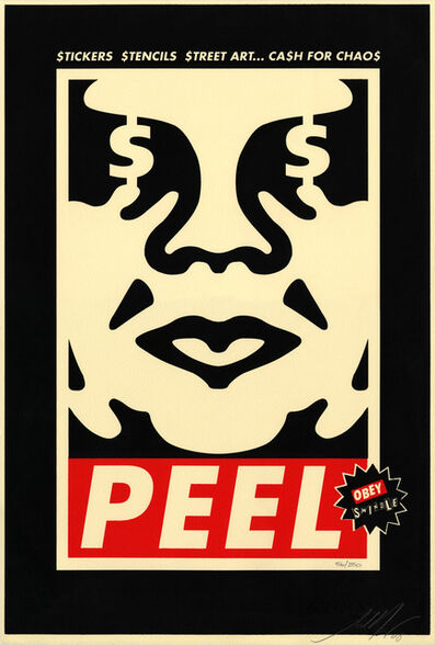 Shepard Fairey, 'Giant Peel', 2006