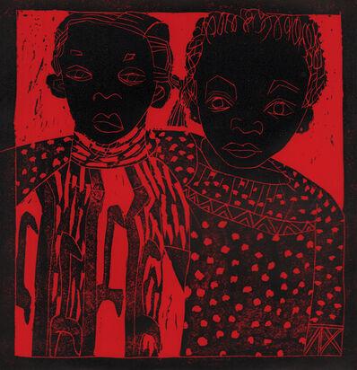 Dindga McCannon, 'Afrodesia & Mira Gandy', 1971