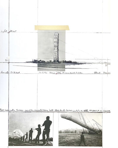 Christo, '5600 m3 Package, Project for Documenta 4, Kassel', 1986