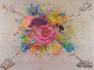 Hiro Sakaguchi, 'Explosion Flowers No. 2', 2013