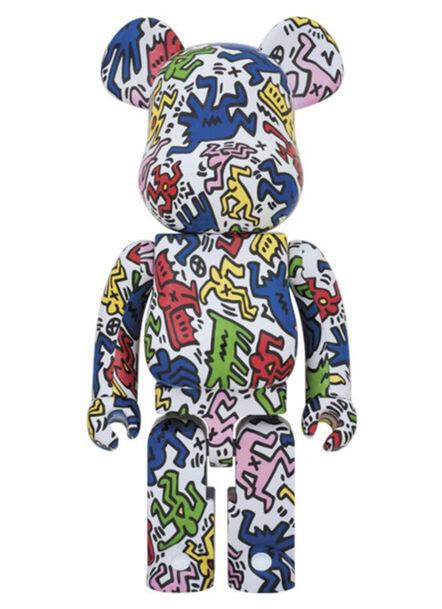 Keith Haring, 'Version #1 1000% Be@rbrick', 2017