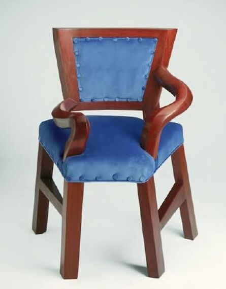 David Hockney, 'Big Chair', 1989-1994