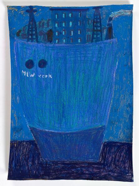 Tal R, ': a ship called New York', 2017