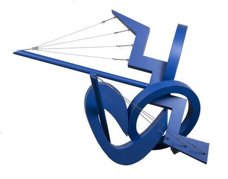 Luis Torruella, 'Navegando en azul ', 2019