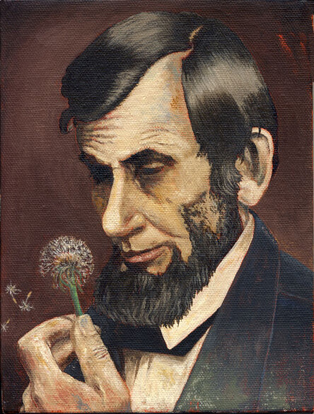Tony Geiger, 'Lincoln with Dandelion ', 2010