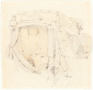 Samuel Prout, 'A Carriage'