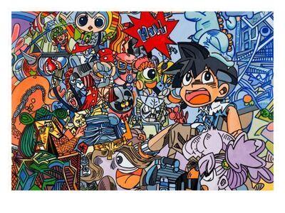 Erró, 'Le petit manga - Picasso'