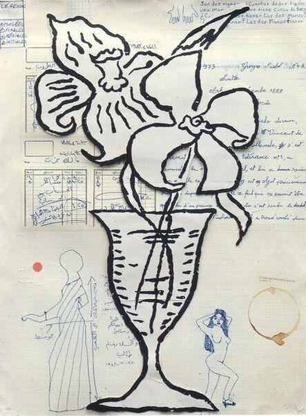 Donald Baechler, 'Flowers', 1993