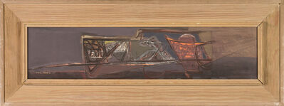 Carl Morris, 'Dwellings #4', ca. 1950