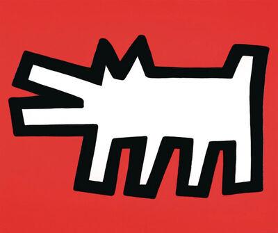 Keith Haring, 'Icons (Barking Dog)', 1990