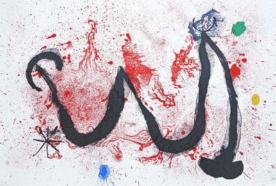 Joan Miró, 'Danse de Feu', 1963