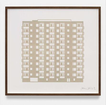 Julian Opie, 'Apartment 8', 2021