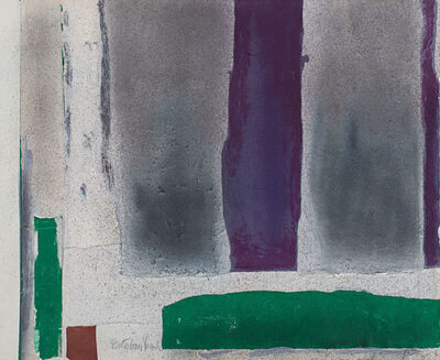 Esteban Vicente, 'Untitled', 1980