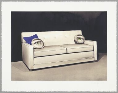Sean Mellyn, 'King Size Sleeper (Blue Eyes)', 2013