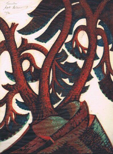 Sybil Andrews, 'Tumulus', 1936