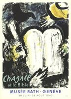 Marc Chagall, 'Moses and the Tablets of the Law', 1962