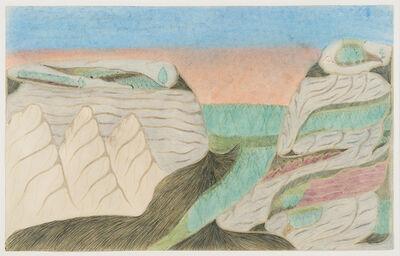 Joseph Yoakum, 'Mt. Elizabeth in Serpentine Mnt Range in towns Ste Quentin New Brunswick', ca. 1968