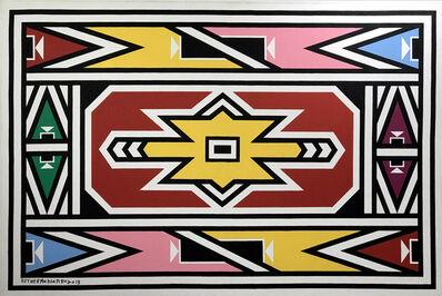Esther Mahlangu, 'Abstract', 2019