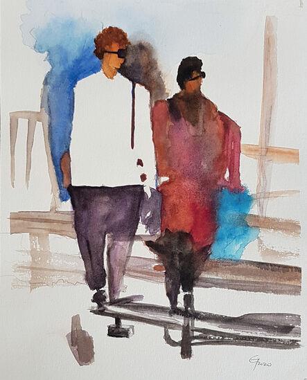 Carlos Giordano Giroldi, 'Fashion week 3', 2020