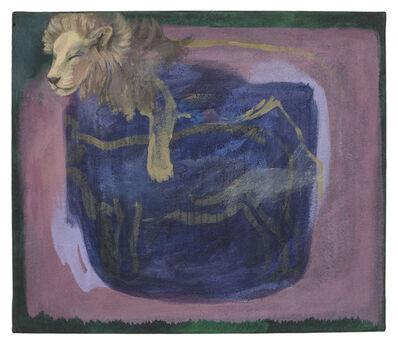 Lutz Braun, 'Träumender Löwe (Dreaming lion)', N/A