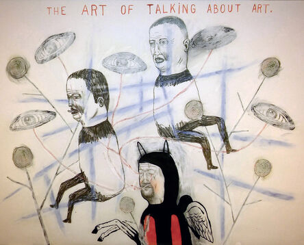 Fred Stonehouse, 'Talking About Art', 2017