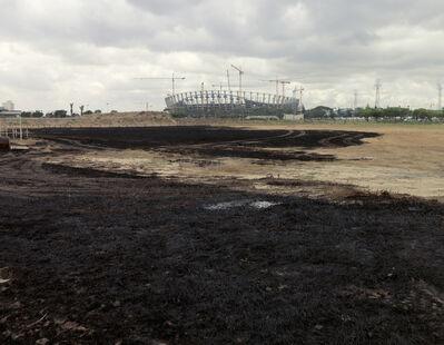Vincent Bezuidenhout, 'Greenpoint Stadium, Separate Amenities Series', 2011