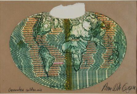 Anna Bella Geiger, 'Correntes Culturais', 1976