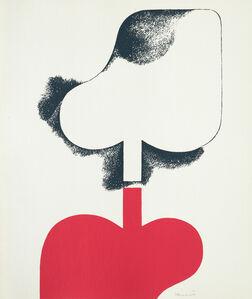 Ilona Keserü, 'Leaves ', 1976