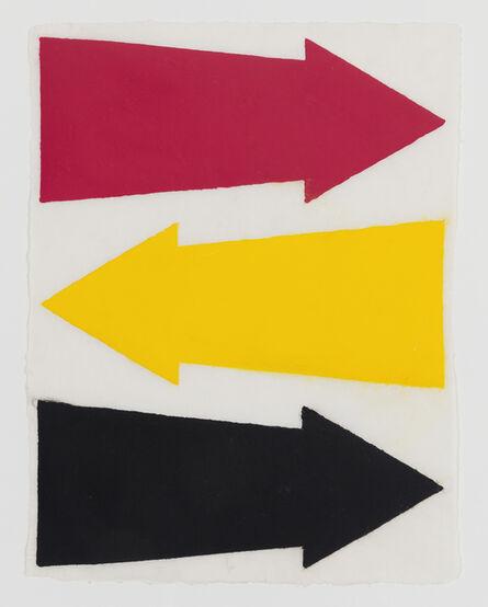 James Siena, 'Three Directions', 2013