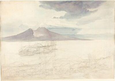 Carl Rottmann, 'Panoramic Views of Vesuvius and Monte Pellegrino', 1827