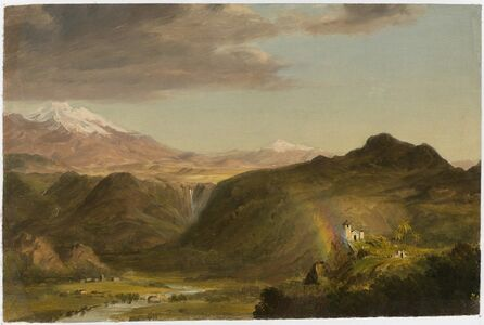 Frederic Edwin Church, 'South American Landscape', 1854